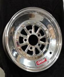752 Series 15x4 5-Lug Front Wheels