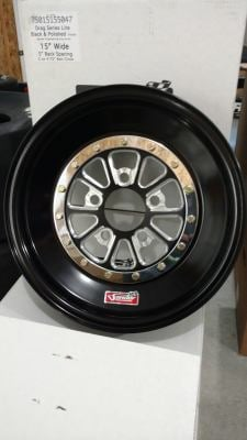 752 Series 15x4 5 Lug Front Wheels