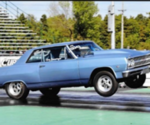 Gary Swearingen 1965 Chevelle 10.15@133MPH on M/T3055S 28.0/10.5, Weld DragLite 15x7 and 15x4 wheels 3500# stock suspension